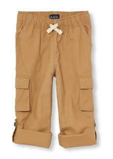 The Children's Place Boys' Big Jogger Pants Flax 11
