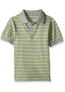 The Children's Place Boys' Big Pique Striped Top