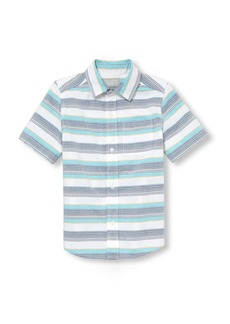 The Children's Place Boys' Big Short Sleeve Button Down Shirt