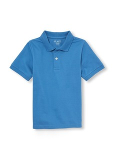 The Children's Place Boys' Big Short Sleeve Polo
