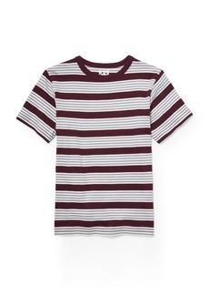 The Children's Place Boys' Big Short Sleeve Stripe Shirt