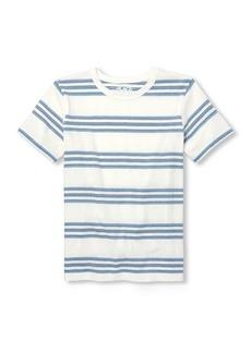 The Children's Place Boys' Big Stripe Short Sleeve Tee Shirt
