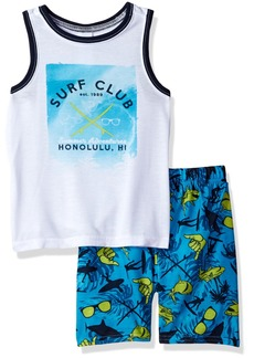 The Children's Place Boys' Big Top and Shorts Pajama Set  XS (4)