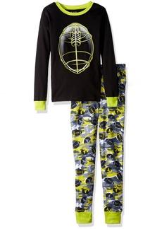 The Children's Place Boy's Big Top Pants Pajama 2 Set Black 8060