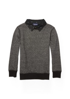 The Children's Place Boys' Collared Tops Long Sleeve Knit  S (5/6)
