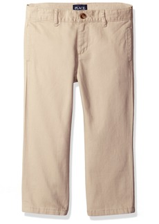 The Children's Place Boys' Husky Uniform Chino Pants  4