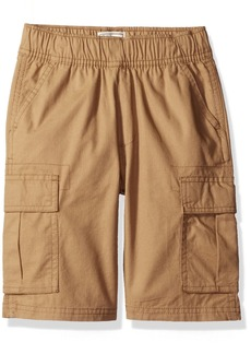 The Children's Place Boys' Little Pull-On Cargo Shorts