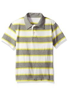 The Children's Place Boys' Little Short Sleeve Stripe Polo