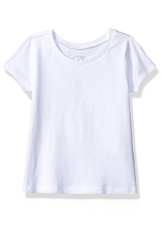 The Children's Place Girls' Basic Short Sleeve Layering Tee  T