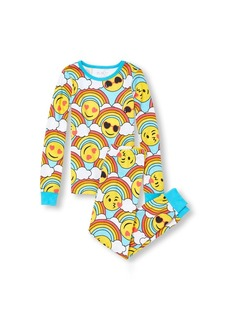 The Children's Place Girls' Big Emoji Pajama Set Multi CLR