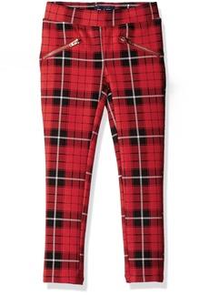 The Children's Place Big Girls' Stretch Zipper Ponte Pant  6X/7