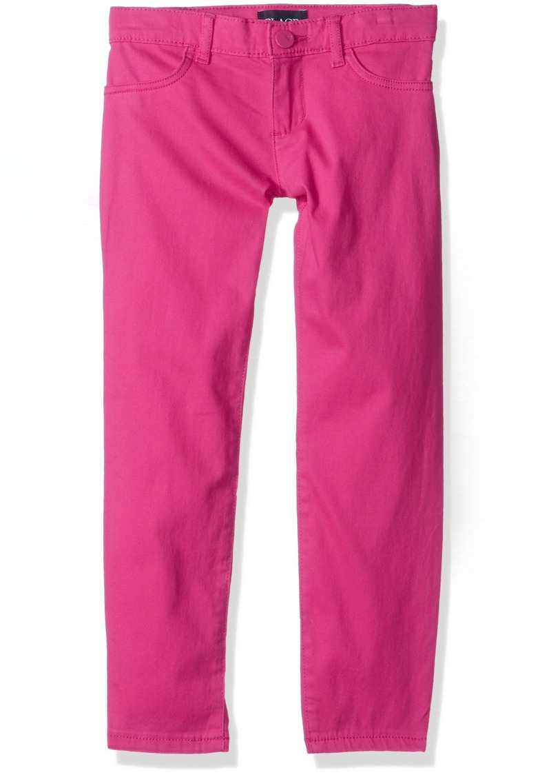 The Childrens Place Big Girls Solid Zip Jeggings