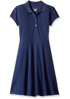 The Children's Place Big Girls' My Favorite Uniform Polo Dress  Large/10/12