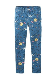 The Children's Place Girls' Big Printed Jeggings GLACIERICE