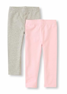 The Children's Place Girls' Little 2 Pack Legging Set