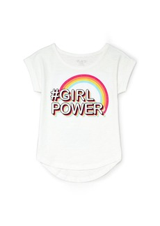 The Children's Place Girls' Little Short Sleeve T-Shirt
