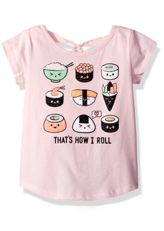 The Children's Place Girls' Little Short Sleeve Top