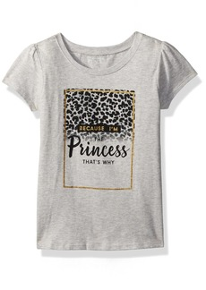 The Children's Place Girls' Short Sleeve Fashion Graphic Tees