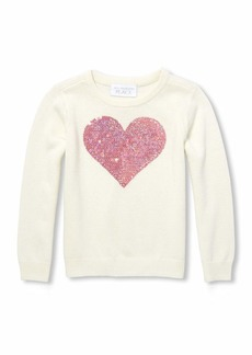 The Children's Place Girls' Toddler Graphic Sweater