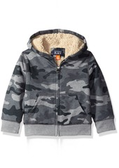 The Children's Place Little Boys and Toddler Sherpa Hoodie