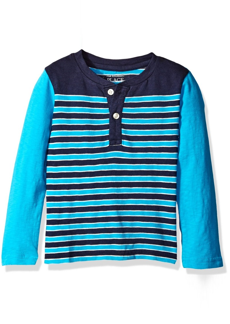 The Children's Place Little Boys and Toddler Striped Henley