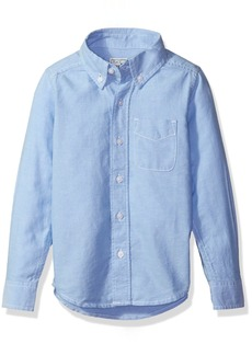The Children's Place Little Boys' Long Sleeve Uniform Oxford Shirt