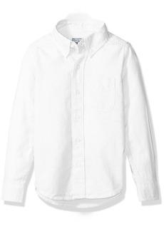 The Children's Place Boys' Little Long Sleeve Uniform Oxford Shirt