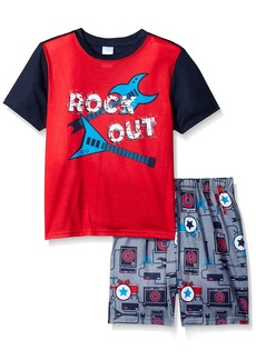 The Children's Place Boys' Top and Shorts Pajama Set