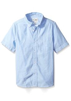 The Children's Place Little Boys' Short Sleeve Uniform Oxford Shirt