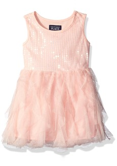 The Children's Place Little Girls and Toddler Sequin Dress  T