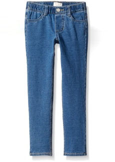 The Children's Place Little Girls' Knit Denim Jegging