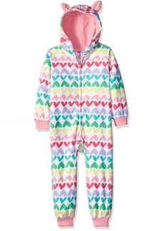 The Children's Place Little Girls' Long Sleeve One-Piece Pajamas