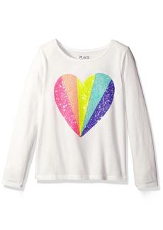 The Children's Place Little Girls' Long Sleeve T-Shirt 2