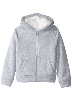 The Children's Place Little Girls' Marled Sherpa Sweater Igloo