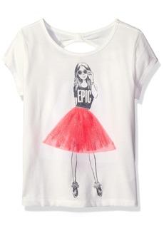 The Children's Place Little Girls' Short Sleeve Top
