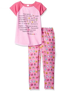 The Children's Place Little Girls' Tank Top and Short Pajama Set  XS (4)