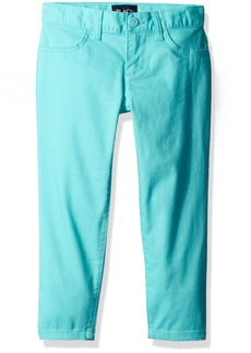 The Children's Place Little Girls'  Solid Knit Jeggings Blue 735