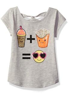 The Children's Place Little Girls' Short Sleeve Top  S (5/6)