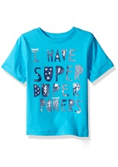 The Children's Place Toddler Boys' Fun Message Graphic T-Shirt  T