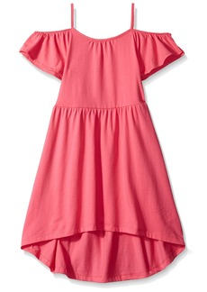 The Children's Place Toddler Girls' Cold Shoulder Casual Dresses  XXL(16)