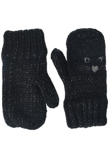 The Children's Place Toddler Girls Critter Mittens black