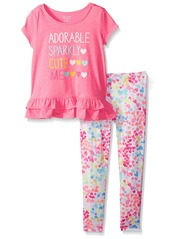The Children's Place Toddler Girls' Her Li'l Floral Coveralls