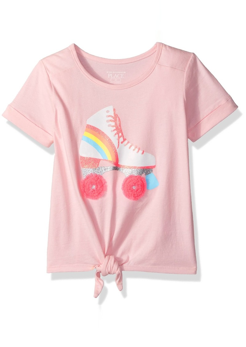 c2be56d78 The Children's Place Girls' Toddler Short Sleeve Fashion Graphic Tees