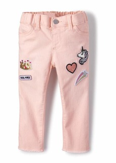 The Children's Place Toddler Girls' Twill Jeggings
