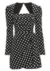 The East Order Amy Polka Dot Mini Dress
