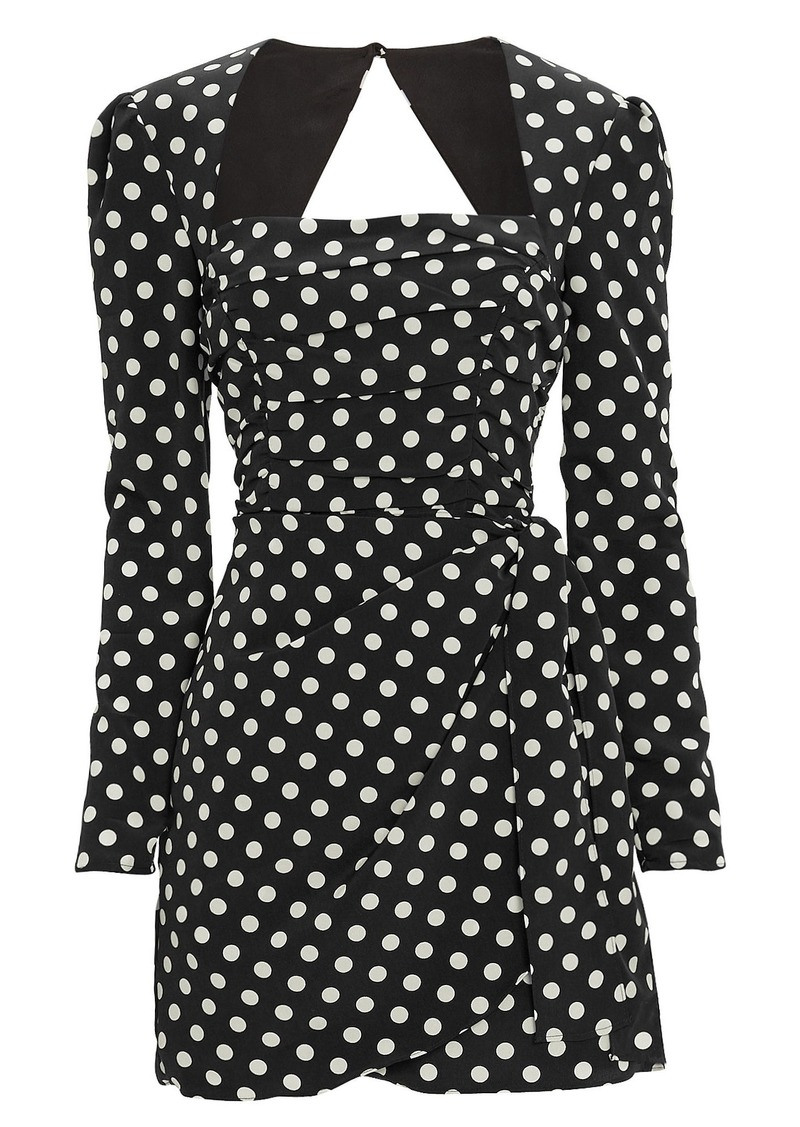Amy Polka Dot Mini Dress