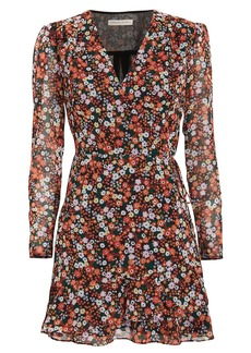 The East Order Harlie Passiona Floral Mini Dress