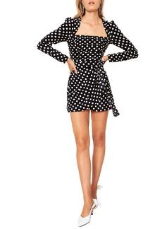 The East Order Amy Long Sleeve Minidress