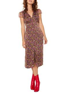The East Order Freya Floral Midi Dress