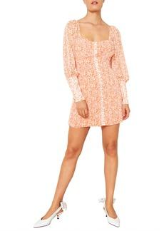 The East Order Peaches Long Sleeve Minidress